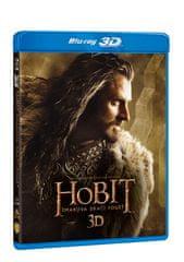 Hobit: Šmakova dračí poušť 3D+2D (4 disky) - Blu-ray