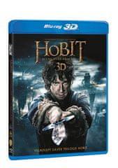 Hobit: Bitva pěti armád 3D+2D (4 disky) - Blu-ray