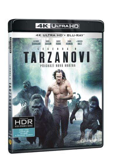 Legenda o Tarzanovi (2 disky) - Blu-ray + 4K Ultra HD