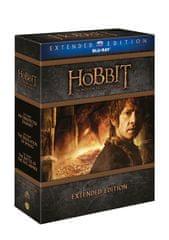 Hobit - prodloužená verze - Kompletní kolekce 1.-3. (9BD) - Blu-ray