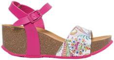 Desigual Dámské sandále Shoes Bio7 Galactic Fuxia Magico 19SSHP11 3062