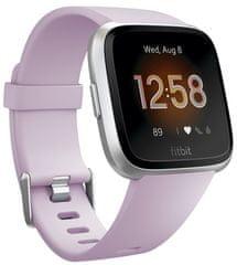 Fitbit Versa Lite - Lilac/Silver Aluminum