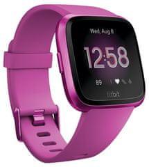 Fitbit Versa Lite - Mulberry/Mulberry Aluminum