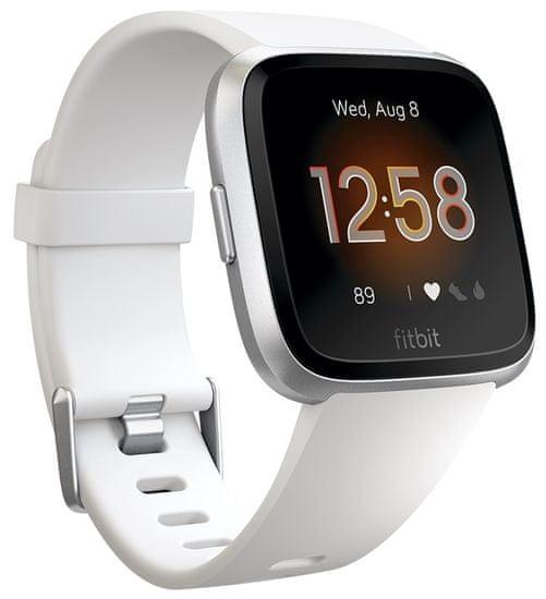 Fitbit Versa Lite - White/Silver Aluminum