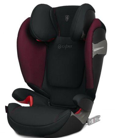 CYBEX fotelik Solution S-fix 2019 Ferrari Victory Black