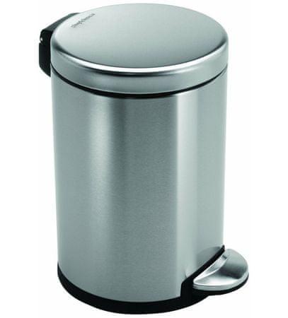 Simplehuman koš za otpad, 3 L, mat čelik