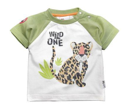Gelati fantovska majica Tropical, 62, belo zelena