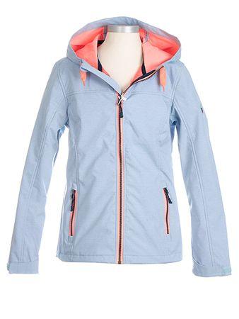 Nickel sportswear dívčí softshellová bunda 140 modrá