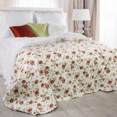 My Best Home narzuta na pościel JENIFER czerwone róże, 220 x 240 cm