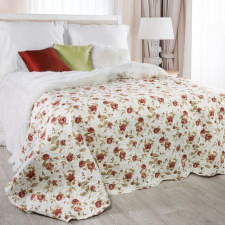 My Best Home JENIFER piros rózsa ágytakaró, 220 x 240 cm