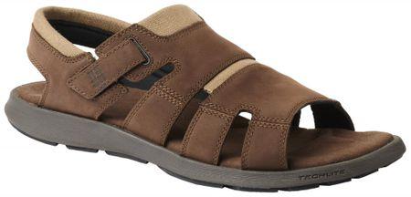Columbia moški sandali Salerno, Tobacco Steel, rjavi, 45