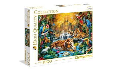 Clementoni sestavljanka Mystic Tigers, 1000 kosov 39380