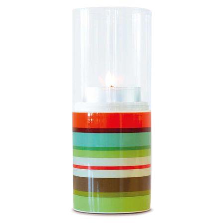 REMEMBER® Svícen Selva, porcelán/sklo, 20 cm