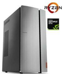 Lenovo namizni računalnik Ideacentre 720 Ryzen 7 1700/8GB/SSD256GB/GTX1660Ti/FreeDOS (IC720-4)