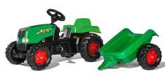 Rolly Toys traktor Rolly Kid z przyczepą - zielony