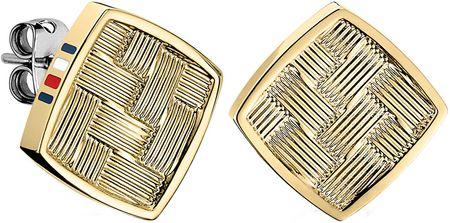 Tommy Hilfiger Négyzet alakú arany fülbevaló TH2700994