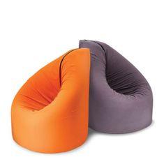 Vreća za sjedenje i igraća podloga 2u1 Bean, narančasta