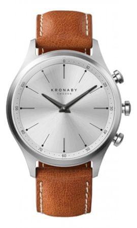 Kronaby pánské hodinky Connected watch SEKEL A1000-3125
