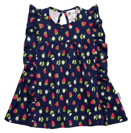 Gelati sukienka dziewczęca Fruits 68 czarny