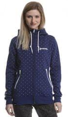 MEATFLY Női pulóver Omni 3 Tech Hood azaz C - Marine Blue