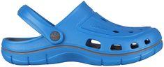 Coqui Pánske šľapky Jumper Sea Blue/Dk.Grey 6351-100-4725