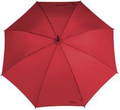 s.Oliver Palicový vystreľovací dáždnik City Automatic - červený 71461SO1801