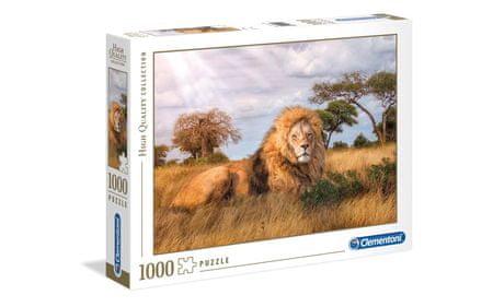 Clementoni sestavljanka kralj živali, 1000 kosov, 39479