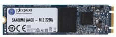 Kingston SSD disk A400 120 GB, M.2 2280, SATA III, TLC NAND