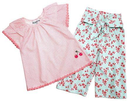 Gelati lány póló és nadrág szett Fruits 104 rózsaszín/kék