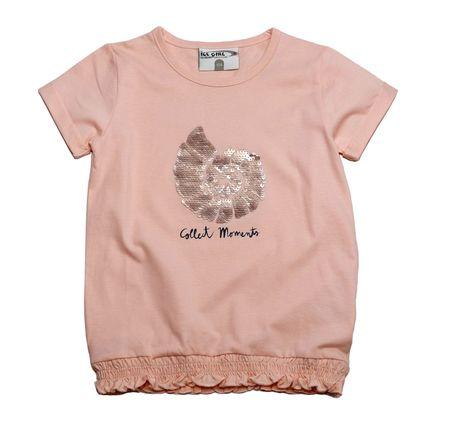 Gelati dívčí tričko Moments 104 svetlo ružová