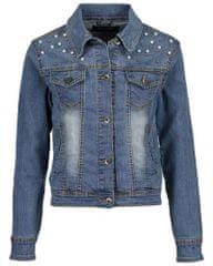Blue Seven dievčenská džínsová bunda s aplikáciou