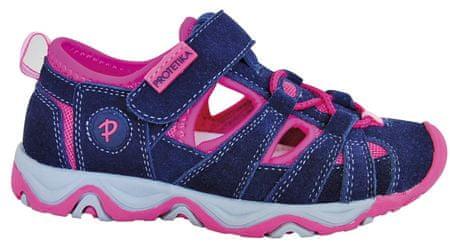 Protetika dívčí sandály Dafy 27 fialová