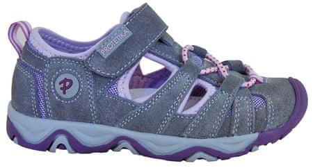 Protetika dívčí sandály Dafy 27 šedá