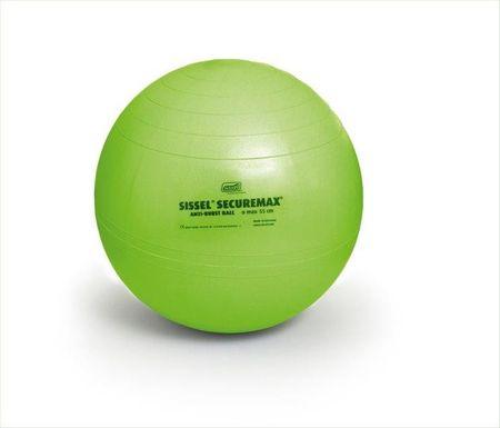 Sissel žoga za vadbo Securemax, 65 cm, zelena