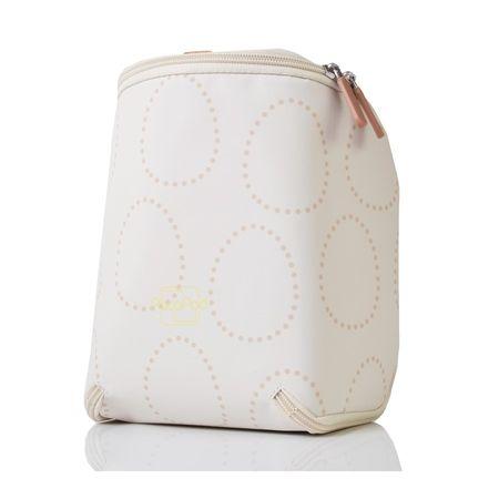 PacaPod torba termiczna z wzorem, kremowa