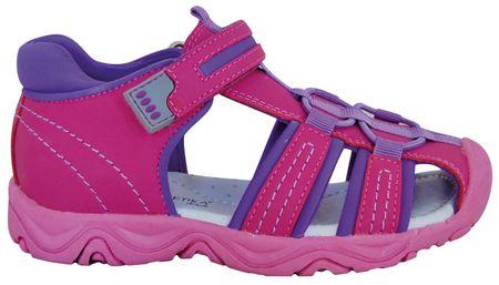 Protetika dívčí sandály Art 27 růžová