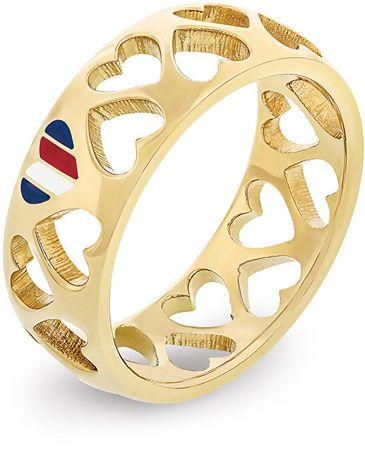Tommy Hilfiger Luxus szívgyűrű TH2701094 (Kerület 56 mm)