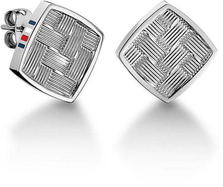 Tommy Hilfiger Négyzet alakú acél fülbevaló TH2700993