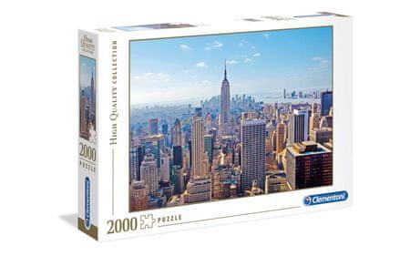 Clementoni sestavljanka mesto New York, 2000 kosov, 32544
