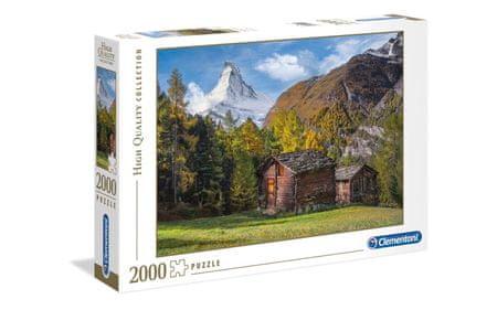 Clementoni sestavljanka gora Matterhorn, 2000 kosov, 32561