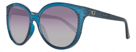 Guess dámské tyrkysové sluneční brýle