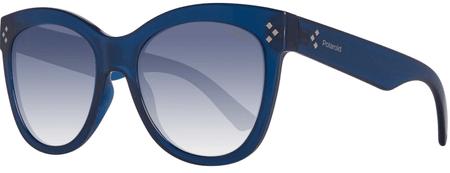 POLAROID okulary przeciwsłoneczne damskie niebieskie