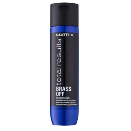 Matrix Odżywcza odżywka na zimno odcień Całkowite wyniki włosów Brass Off (Conditioner) (objętość 300 ml)
