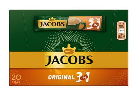 Jacobs 3v1, 20x15,2 g (škatla) - odprta embalaža