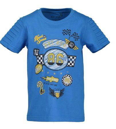 Blue Seven chlapčenské tričko s potlačou 110 modrá