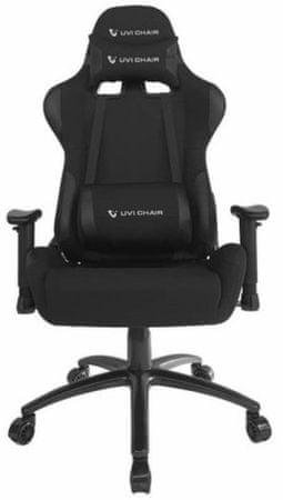 UVI Chair gamerski stolac Back in Black, crni