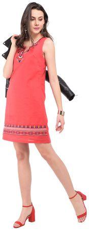 William de Faye dámské šaty XXL červená
