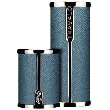 Travalo Milano - újratölthető flakon tok 5 ml / világos kék/