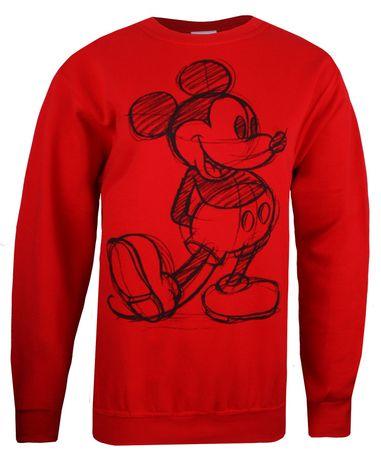 disney czerwona bluza myszki miki