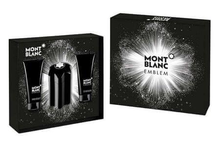 Mont Blanc Emblem - EDT - 100 ml + borotválkozás utáni balzsam 100 ml + tusfürdő 100 ml